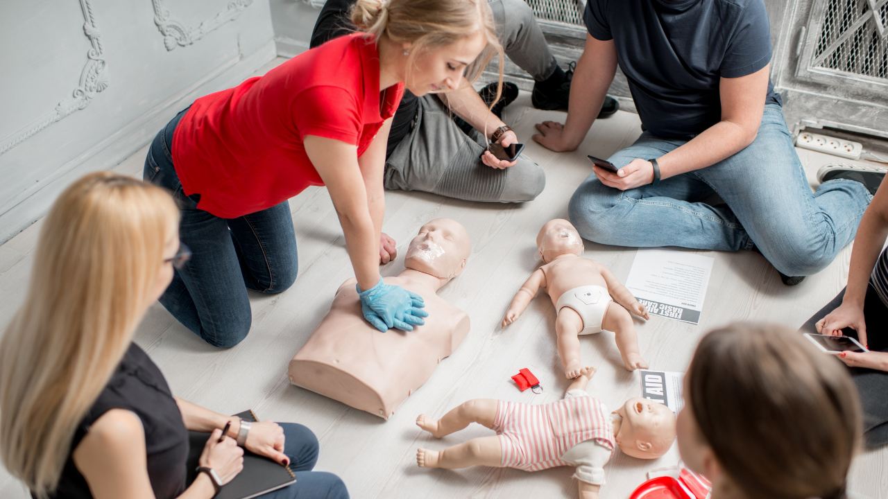 CPRBasic Life Support Course